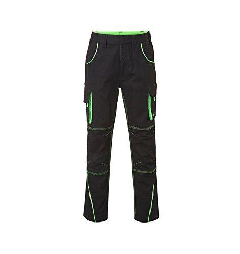 alta funcionales un negro deportivo look Pantalones Detalles verde lima en con en calidad YqCwFf