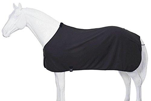 Tough 1 Soft Fleece Blanket Liner/Sheet, Black, Medium