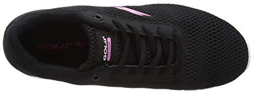 Negro para Bk Black Gola Ala889 Mujer para Zapatillas Interior Deportivas Pink Ant08q