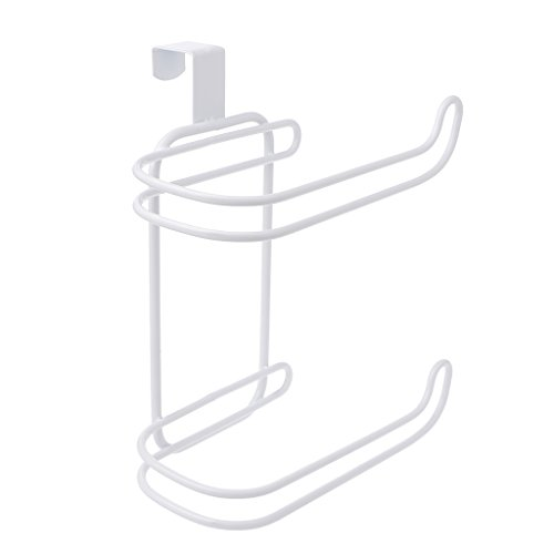 Techinal Bathroom Over Tank Toilet Paper Roll Holder - Double Roll Tissue Paper Storage by Techinal (Image #3)