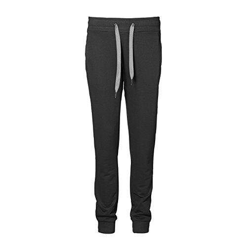 ID Pantalones deportivos de jogging holgados para mujer/señora Gris Jaspeado