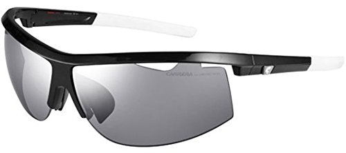 Carrera Sunglasses - Carrera 4001 / Frame: Black Lens: Clear and Polarized - Sunglass Frames Carrera