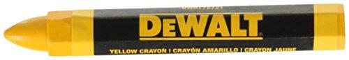 DEWALT DWHT72721 Yellow Lumber Marking Crayon 2 pack