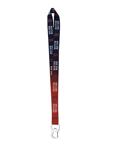 (Pro Specialties Group MLB Boston Red Sox Ombre Lanyard, Red, One Size)