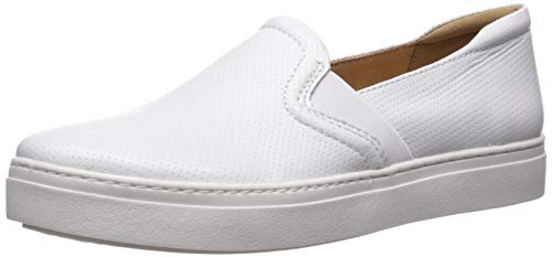 Naturalizer Women's Carly 3 Shoe, White PERF, 8.5 M US