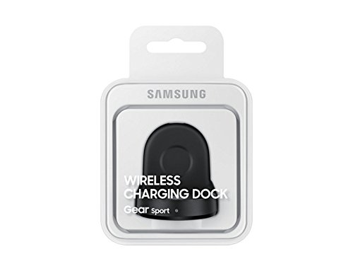 Price comparison product image Genuine OEM Original Samsung Wireless Charging Dock Cradle Charger EP-YO600 for Gear Sport (SM-R600)