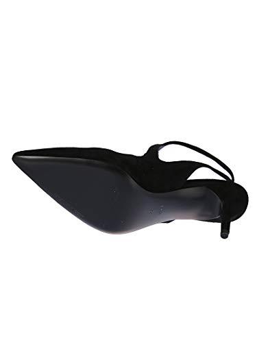 3018p0013m001 Cuero Negro Mujer Altos Wang Zapatos Alexander gqwRTT