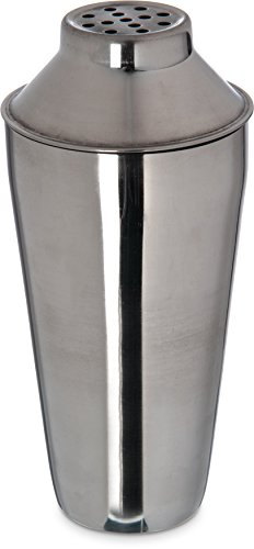 Carlisle 608600 Bar Essential Stainless Steel 18-8 Classic Cocktail Shaker, 30 oz. Capacity, 3-3/4 x 9-3/4'' (Case of 12) by Carlisle (Image #8)