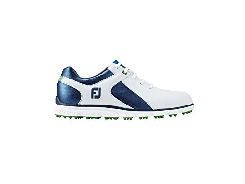 FootJoy Pro SL Golf Shoes 53584 White/Blue - 9 MEDIUM from FootJoy