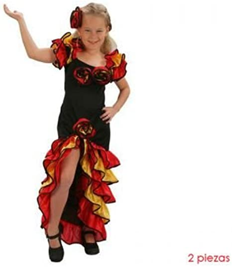 Bailaora Rumbera - 7-9 años: Amazon.es: Ropa y accesorios