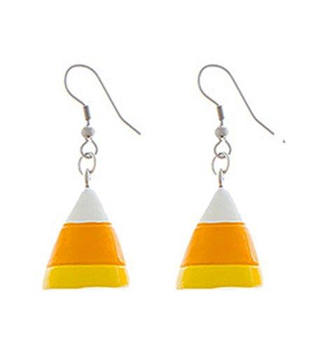 Eeery-Sistable Earrings: Candy Corn - By Ganz ()