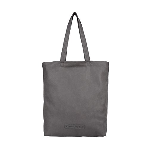 Cowboysbag Palmer Shopper Borsa tote pelle 32 cm Night Grey