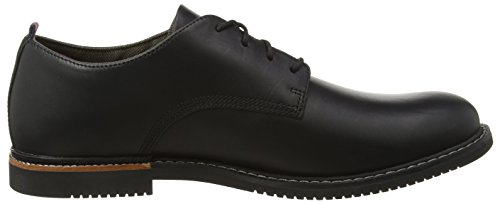 Timberland Herren Brook Park Oxford Schwarz (Black Smooth)