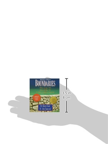 Boundaries-When-to-Say-Yes-When-to-Say-No-To-Take-Control-of-Your-Life-Miniature-Edition-Miniature-Editions