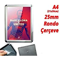 25 MM A4 Rondo Köşe Çerçeve 21x30 cm