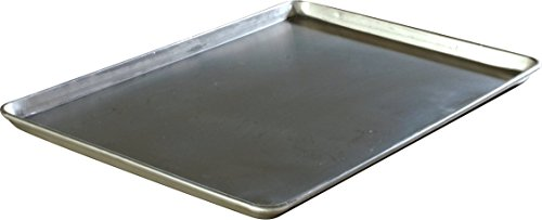 Carlisle 601825 3003 Aluminum Full Size Sheet Pan, 25.75'' Length x 17.81'' Width (Case of 12) by Carlisle