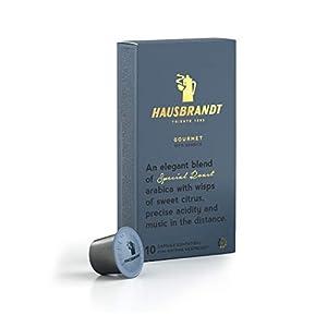 10 Capsule Hausbrandt Caffè Gourmet 100% Arabica compatibili Nespresso®