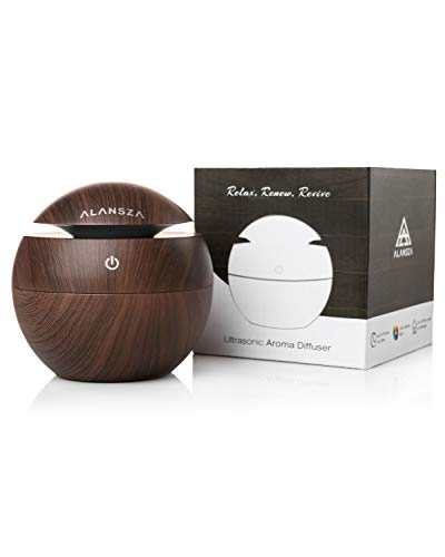 130ml Office Diffuser for Aromatherapy Essential Oils - Ultrasonic Cool Mist Oil Humidifier for Any Room in the Home - Personal Air Humidifier - Decorative Aroma Therapy Air - Mini Fragrance Home