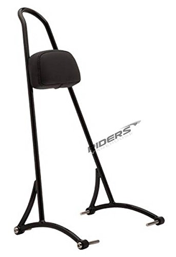 Dyna Sissy Bar (Burly B13-1501B Black Tall Sissy Bar)