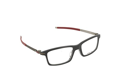 Eyewear 53mm Black Pitchman RX Montures Homme Polished lunettes Black Pour Oakley Satin de OX8050 SnwxAHPHq5