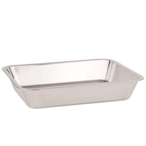 Stainless Steel Baking Pan / Roasting Pan - 16 3/8'' x 12 5/8'' x 2 7/8'' by Libertyware