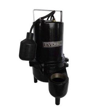 Everbilt Heavy Duty Cast-Iron Sewage Pump 6/10 HP