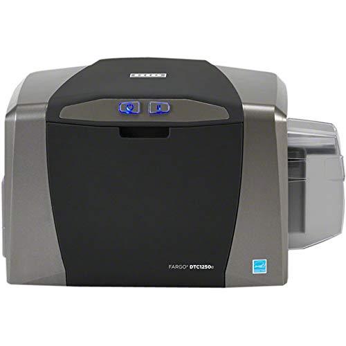 Fargo DTC1250e Dye Sublimation/Thermal Transfer Printer - Color - Desktop - Card Print - Auto Feed - 100 Card Input Hopper, 30 Card Output Hopper - 6 Second Mono - -