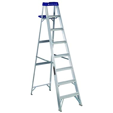 Louisville Ladder AS2110 250-Pound Duty Rating Aluminum Stepladder, 10-Feet