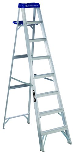 Louisville Ladder AS2110 250-Pound Duty Rating Aluminum Stepladder, 10-Feet by Louisville Ladder