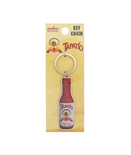Tapatio, TAPATIO BOTTLE, Officially Licensed Tapatio Hot Sauce Brand, Metal KEYCHAIN