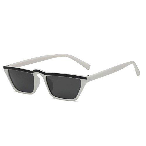 de gafas Unidos gato Europa de sol las Aoligei marco Retro gafas cejas y hombres de sol gafas ojo de Estados los de de H pequeño wIOqOZ41