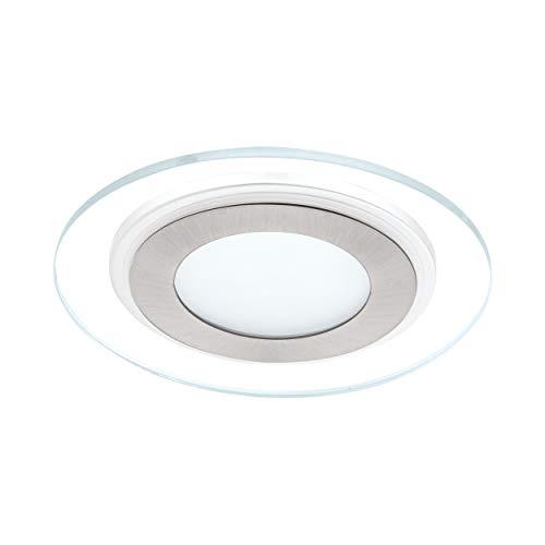 EGLO Lámpara Empotrable Pineda 1, 12 W, Blanco, 3 x 14.5 x 3 cm