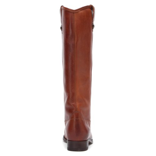 FRYE Damen Melissa Button Boot Cognac