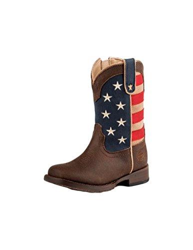 Roper Baby American Patriot, Brown, 5 M US Toddler