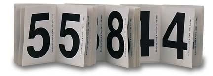 【超歓迎された】 Hip Numbers 1 1 - Each 18 Set (25 of Each 18 Number) B0001F2EXU, セイウ オンラインショップ:5e922231 --- svecha37.ru