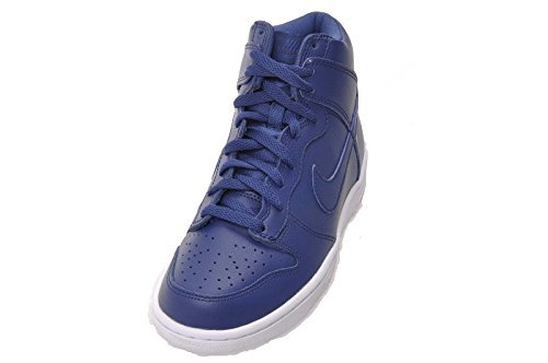 Nike Boys Dunk High (GS) Coastal Blue Sneakers (6) by NIKE (Image #2)