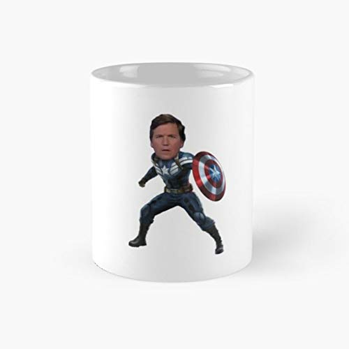 Tucker Carlson #3 Mug, tucker carlson Funny Mugs, 11 Ounce Ceramic Mug, Perfect Novelty Gift Mug, Tea Cups, Funny Coffee Mug 11oz, Tea -