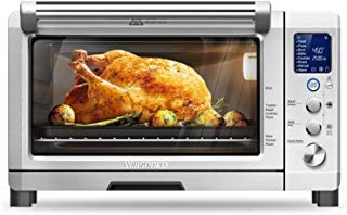 Willsence Toaster Oven Convection Toaster Oven Stainless Steel 6 Slice Countertop LCD Display and Element IQ,1800W,Pizza,Brushed,with 9 Pre-set Cooking Functions (Best Small Microwave Consumer Reports)