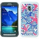 Lilly Pulitzer 26 White Samsung Galaxy S5 Active Shell Phone Case,Beautiful Look