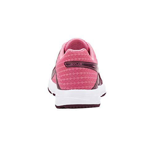 de bordeaux Asics rose Mujer Running Amplica para Zapatillas pÃle qOTOYF