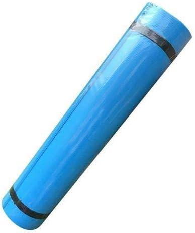 Yoga mat 1730 * 600 * 4MM EVAヨガマット失う重防水防湿スポーツマットフィットネス折りたたみ体操マットピラティスエクササイズ健康 workout (色 : Blue)