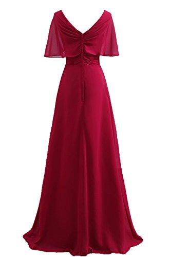 Bridal_Mall - Vestido de novia - trapecio - Sin mangas - Mujer Rosso