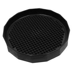Vollrath 611-0606 Traex Black Beverage Coaster f/ Pitchers and ()