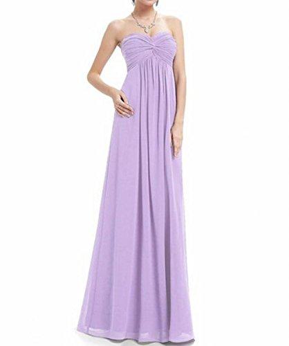 Lang Violett Damen Gerüscht Runder Party der Leader Violett Schönheit Ausschnitt Brustumfang Kleid 0xBP6wBYIq