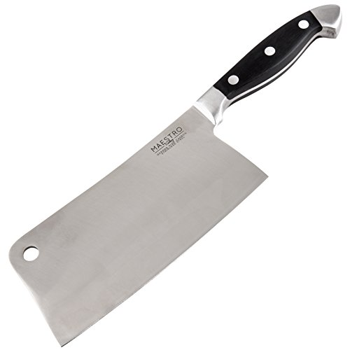 Maestro Cutlery Volken Series German High Carbon Stainless Steel Professional Knifes - Choose Your Knife (Cleaver)