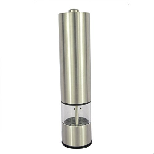 Battery Operated Stainless Pepper Grinder