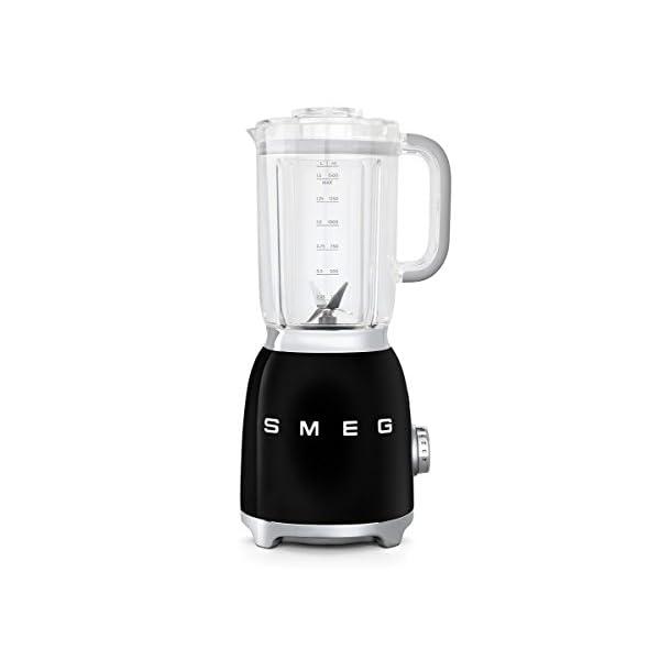 Smeg BLF01BLUS 50s Retro Style Blender, Black 1