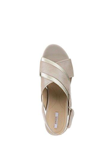 Geox D828AD00LS Sandals Women Brown 0r9Q3Z3
