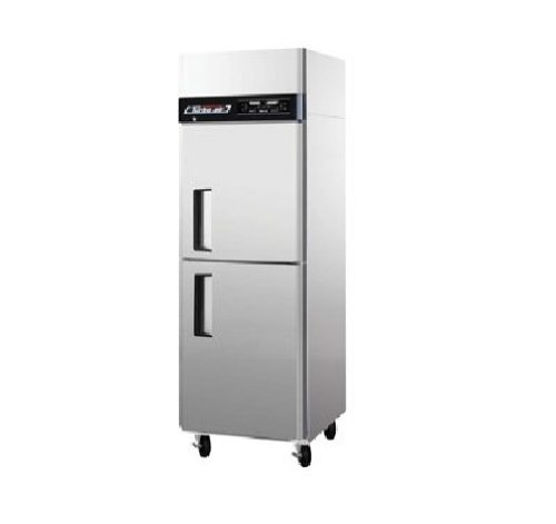 Floor Top Freezer Refrigerator (JRF19 19 cu.ft Dual Temperature Unit with 2 Solid Half Doors Digital Temperature Control System High Tech Monitor Two Separate Refrigeration Systems and Stainless Steel Cabinet Construction)
