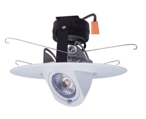 Elco EL69727W 6'' Recessed 2700K LED Adjustable Pull Down Trim by Elco